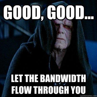Star Wars Bandwidth Meme
